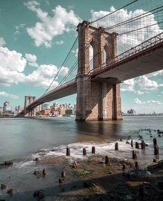 Brooklyn Bridge, New York NYC New York City Travel Honeymoon Backpack Backpacking Vacation Photographie New York, Brooklyn Bridge New York, Brooklyn City, Voyage New York, New York Photography, Cityscape Photography, Travel Photography, City Aesthetic, New York City Travel