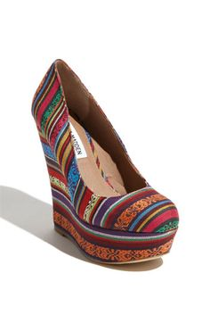 I would love to wear these steve maddens in summer with a white lace sundress!