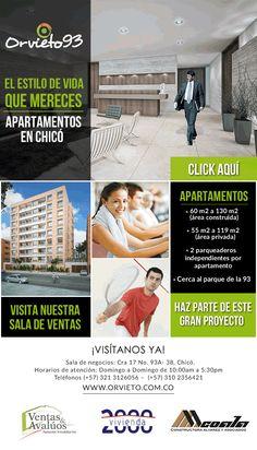 #NOVOCLICK esta con #Orvieto93 #ApartamentosEnChicó