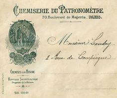 Vintage Printable Ephemera - French Envelope - The Graphics Fairy