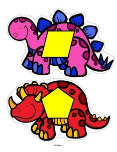 Dinosaurs Shapes for Preschool and Pre-K
