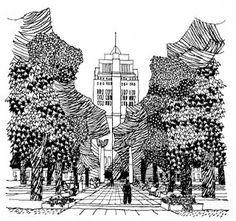 The Club of Compulsive Readers: Gordon Cullen's The Concise Townscape (El Paisaje Urbano)