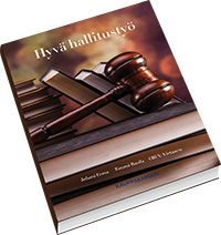 Jokaisen hallitustyöskentelijän perusteos! Kirja kertoo hallitustyön perusasiat, vastuut ja oikeat toimintatavat. Liiteosio sisältää keskeisen lainsäädännön.