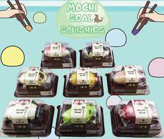 sillysquishies.com  - Mini Mochi Seals , $11.99 (http://www.sillysquishies.com/mini-mochi-seals/)