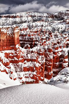 Frosted Landscape - Bryce Canyon National Park, Utah
