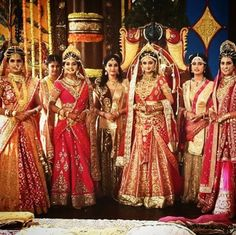 The princesses of Mithila