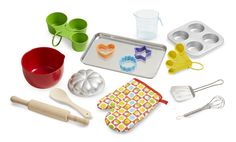 Let's Play House! Baking Play Set | Pretend Play Food and Kitchens | Melissa and Doug