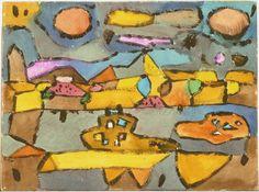 Land of Lemons by Paul Klee