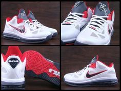 Nike LeBron 9 Low  USA  - Another Look Today also brings the latest look at  the upcoming