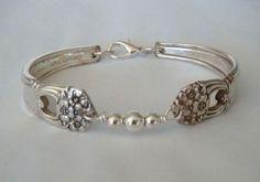 Designer Linda Taylor:    fork, jewerly, necklace, pendant, art, silver, silverware, reycled, repurposed, heirloom, history