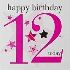 012 Happy Birthday Today, Birthday Wishes For Kids, Birthday Clips, Art Birthday, Happy Birthday Quotes, Happy Birthday Images, Special Birthday, Wedding Anniversary Wishes, Birthday Numbers