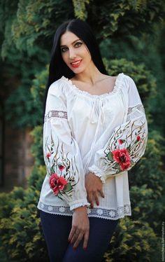 Gallery.ru / Фото #4 - вышивка в одежде - pustelga