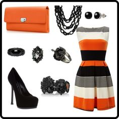Evening Dress Outfit...I can wear this when we go out with Timmy and Fear the Beard Brian Wilson  =)
