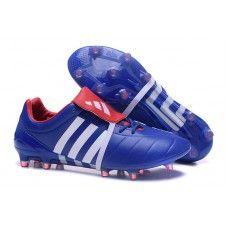 timeless design 90a58 dd730 Adidas Predator Mania Champagne FG Botas de futbol Azul Blanco Rojo