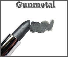 Gray Silver Lipstick- Color Rich Lipstick-Gunmetal