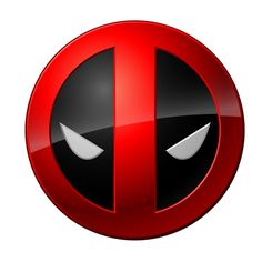 Custom or design Deadpool logo Iron On Stickers(Heat Transfers) for your t-shirt and jerseys.