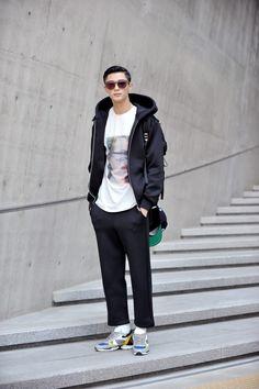 Byun Wooseok for Seoul Fashion Week F/W 2014, day 2