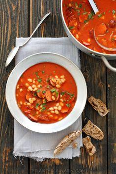 Ekspresowa fasolka po bretońsku Plat Simple, Chana Masala, Food And Drink, Keto, Cooking, Ethnic Recipes, Eating Organic, Eat Healthy, Kitchen