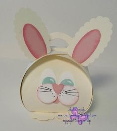 Curvy Bunny by beaddict - Cards and Paper Crafts at Splitcoaststampers