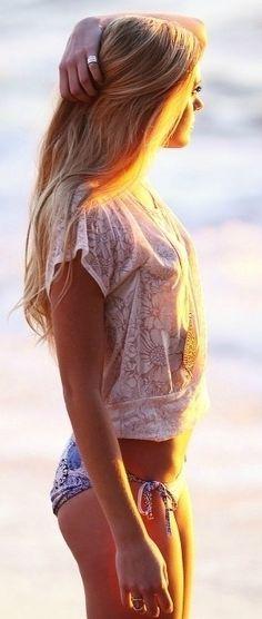 (ಠ_ರೃ) Très Belle Bionda ღ♥♥ღ Très Sexy ღ♥♥ღ summer sun
