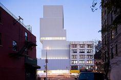 Architect: SANAA  Location: 235 Bowery, New York, NY 10002  Client: New Museum of Contemporary Art, New York City; Zubatkin Owner Representation
