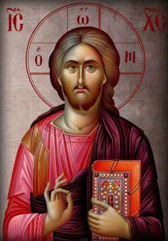 Christ Pantocrator, a modern icon