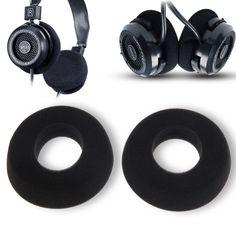 1 Pair Replacement Leather Headphones Earpads Ear Pads Ear Cushions for GRADO SR60 SR80 SR125 SR225 L3EF