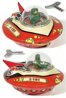 Space Patrol Commander 1950 | Tin Toy Treasures | Tin Toy Treasures | Space Toys, Old Toys, Children's Toys, Vintage Robots, Vintage Dolls, Vintage Tins, Rockets, Space Age, Spaceships