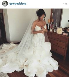 George Elsissa Wedding Dress #SoBeautiful #WeddingDress #GeorgeElsissa