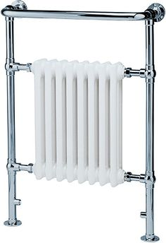 Hudson Reed Harrow Traditional RadiatorThe Harrow Traditional Radiator is part of Hudson Reed's Heated Towel Rails range. This product is wide, high and is in depth. It has a Chrome / White finish and powers 3520 BTU of heat Traditional Towel Warmers, Traditional Towel Radiator, Traditional Radiators, Traditional Bathroom, Flat Panel Radiators, Column Radiators, Bathroom Radiators, Radiator Valves, Hudson Reed