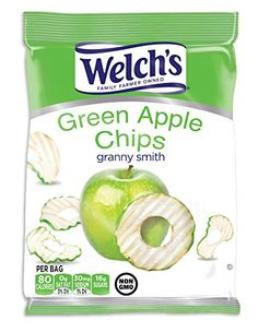 Welchs Apple Chips 21g Bag  4ct Granny Smith -- Details can be found by clicking on the image.