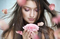 beauty portrait stock photo by Konstantin Yuganov (choreograph) - Stockfresh Personal Beauty Routine, Beauty Routines, Concealer Tips, Beauty Tips In Hindi, Clear Skin Tips, Organic Facial, Beauty Portrait, Happy Skin, Facial Treatment