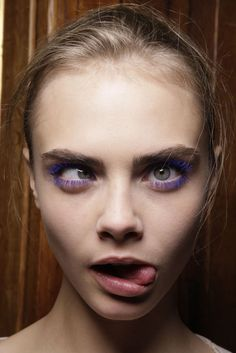Cara Delevingne #fashion #model #funny
