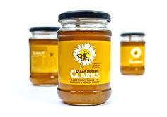 jar label for honey | Clarks Clear Honey unveils brand identity with Leahy Brand Design