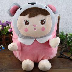 Child backpack super adorable doll backpack Super Soft Plush Backpack baby backpack