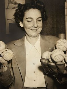 Following her service in the World War II as a member of the WAVES, Ms. Houghton contacted Philadelphia Phillies owner Bob Carpenter, Jr. and asked to be hired as a scout. He agreed and Ms. Houghton became the first woman to hold the position in Major League Baseball. She would scout for the Phillies from 1946-1952, signing fifteen players to contracts, though none would play in the majors.