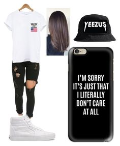 """Untitled #243"" by ilianavaldez on Polyvore featuring Vans and Casetify"