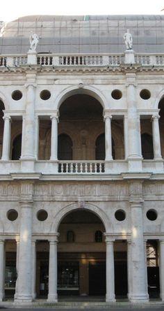 Vicenza Bazilika homlokzat