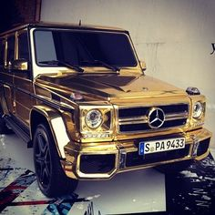 Gold All on My Whip.... G-Wagon