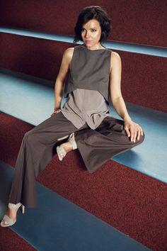 Top Vera, Trousers Sunnica | Andrea Sauter Swiss Fashiondesign | Spring/Summer 2017 | Photo by Ellin Anderegg