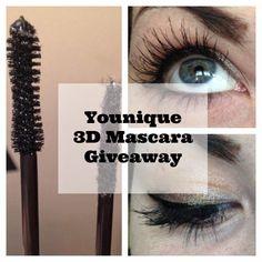 Younique 3D Fiber Lash Mascara Giveaway