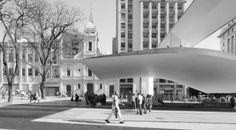 Praça do Patriarca (Paulo Mendes da Rocha) - Projetos brasileiros selecionados pelo Prêmio das Américas Mies Crown Hall