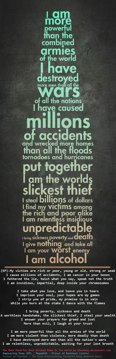 The devastating impact alcohol is having on your health may not be noticeable right away. But when you drink over a long period of time, alcohol may be in the process of damaging almost every organ in your body. Quotes To Live By, Me Quotes, Quotable Quotes, Photoshop Text Effects, Adobe Photoshop, Lightroom, Alcohol Quotes, Alcohol Memes, Alcohol Inks