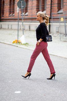 Printed pants | Sofis snapshots