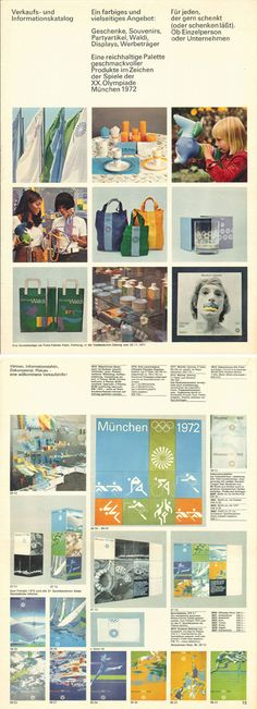 1972 Munich Olympics Merchandise Catalog