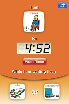If you don't have this, NOW is the time to get it. Visual Schedules made super easy & teaching of emotions and waiting. Belongs in your app toolbox. Choiceworks - Visual Support System with Schedule, Feelings and Waiting Picture Boards for Special Education and Autism - Educational App