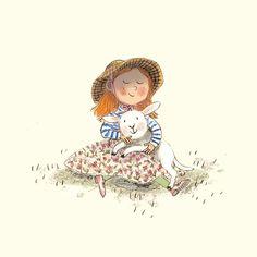 "Polubienia: 983, komentarze: 10 – Briony May Smith (@brionymaysmith) na Instagramie: ""Mary had a little lamb  #springlambs #springlamb #farmanimals #artistsoninstagram…"""