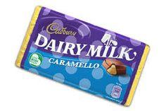 100g bar of Cadbury's Dairymilk chocolate with a smooth caramel filling.#www.ansiopa.ie