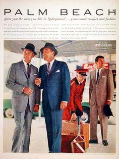 Palm Beach Men's Suits (1957)