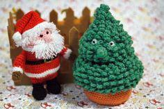 Amigurumi Häkelanleitungen für Weihnachten
